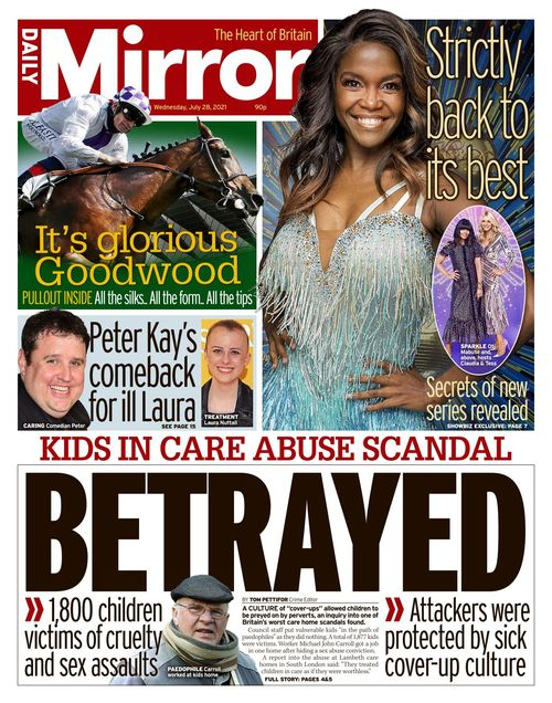 Daily Mirror 2021-07-28