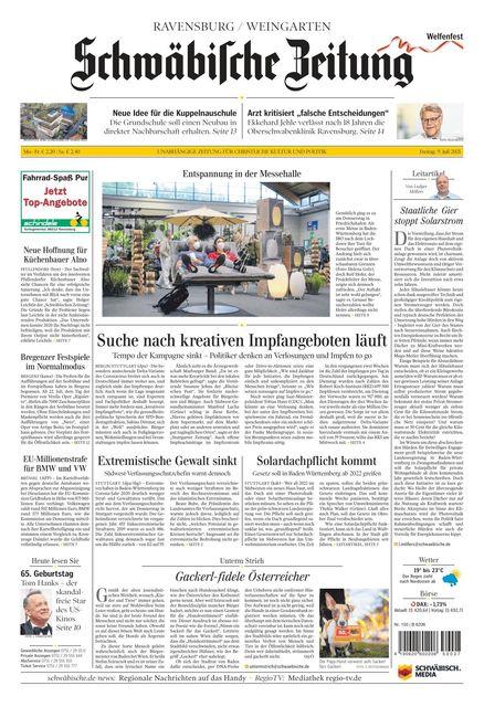 schwäbische zeitung bekanntschaften