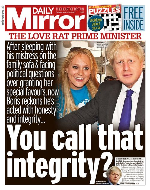 Daily Mirror 2021-03-30