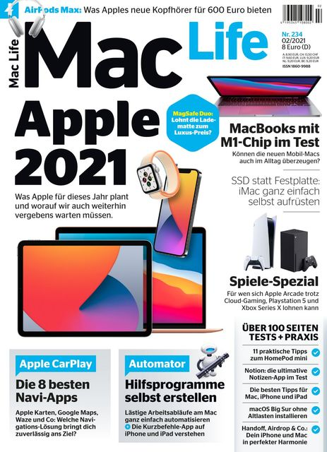 Mac Life Ausgabe 02/2021