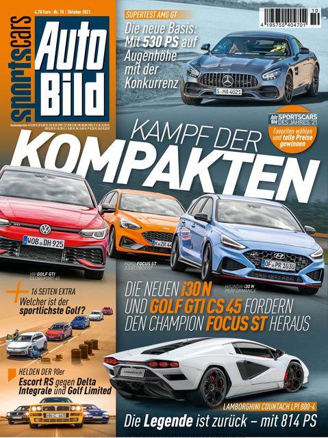 AUTO BILD Sportscars Ausgabe 10/2021