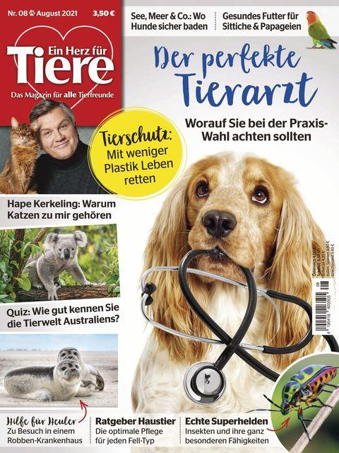 Ein Herz für Tiere Ausgabe 08/2021
