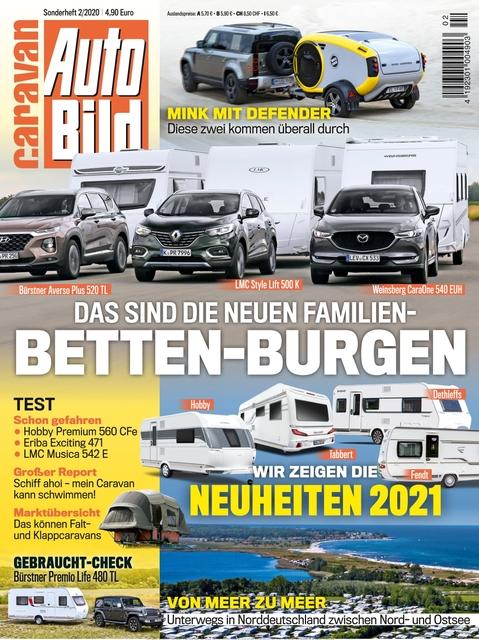 AUTO BILD Caravan Sonderausgabe 02/2020