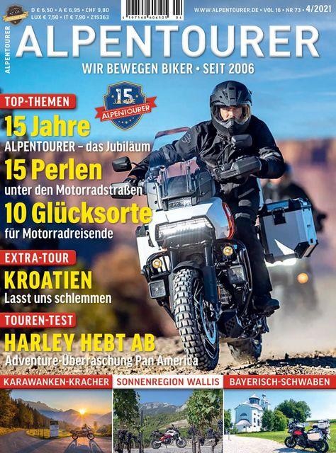 ALPENTOURER – Europas Motorrad-Tourenmagazin Ausgabe 04/2021
