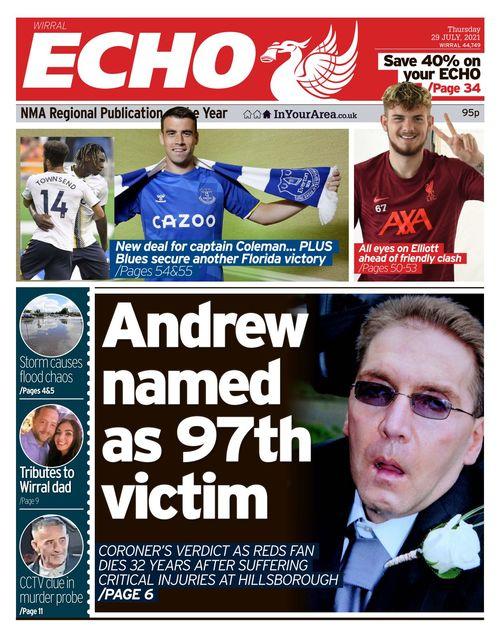 Liverpool Echo 2021-07-29