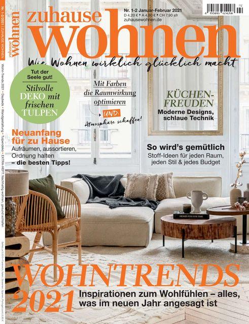 Zuhause Wohnen Ausgabe 01-02/2021