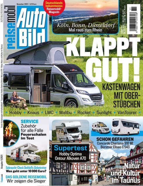 AUTO BILD Reisemobil 2021-10-14