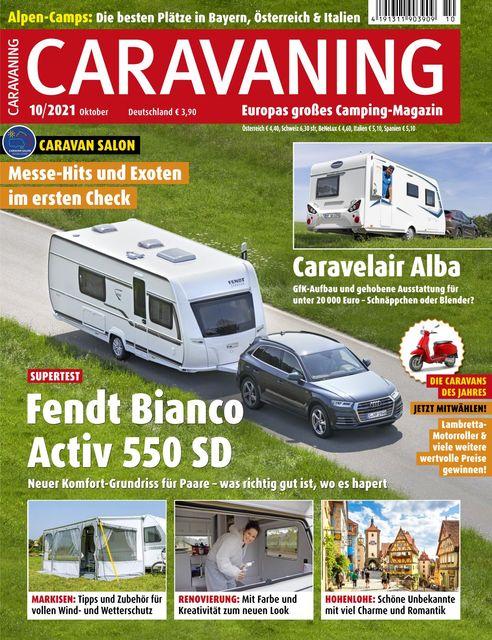 Caravaning Ausgabe 10/2021
