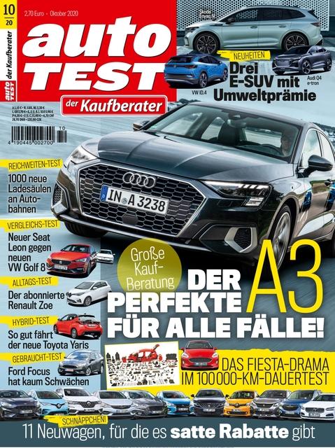 AUTO TEST Ausgabe 10/2020