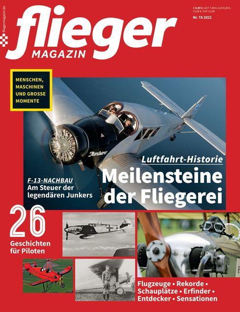 fliegermagazin Ausgabe 07a/2021