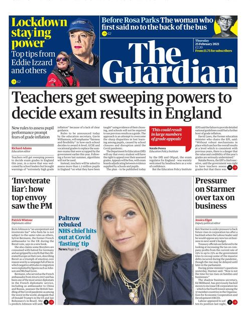 The Guardian 2021-02-25