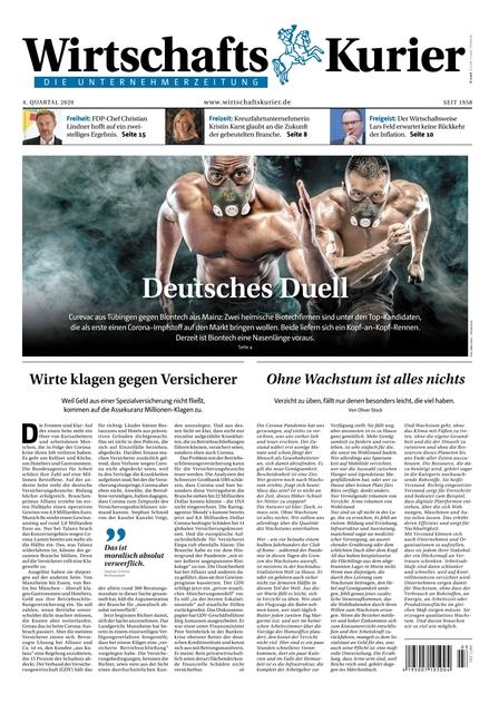WirtschaftsKurier Zeitung Ausgabe 04/2020