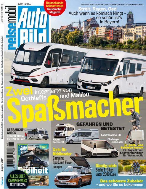AUTO BILD Reisemobil 2021-04-08