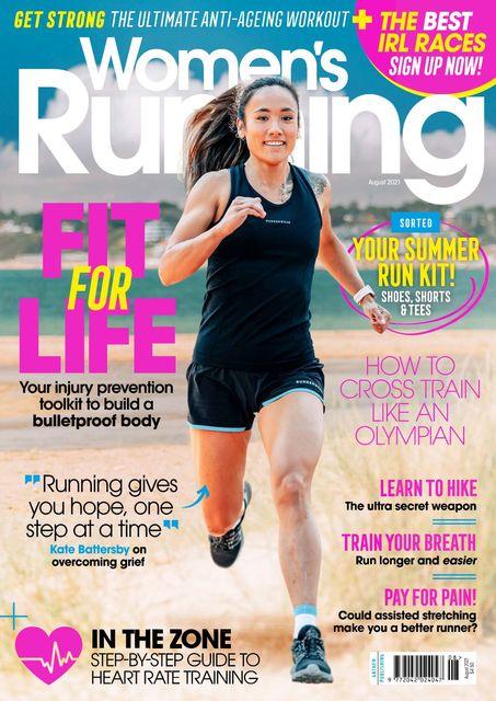 Women's Running UK issue 140, 08/2021