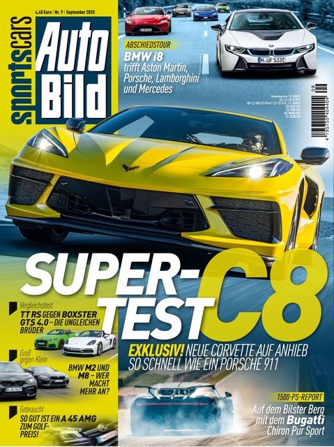 AUTO BILD Sportscars 2020-08-14