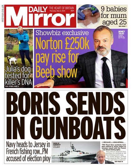 Daily Mirror 2021-05-06