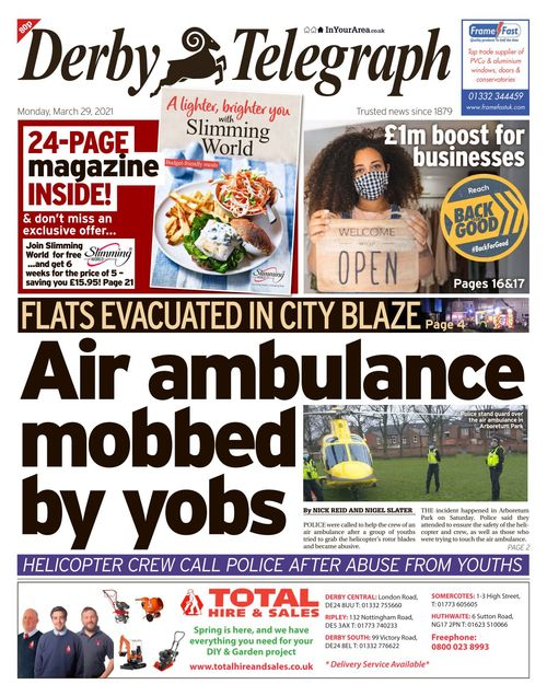 Derby Telegraph 2021-03-29