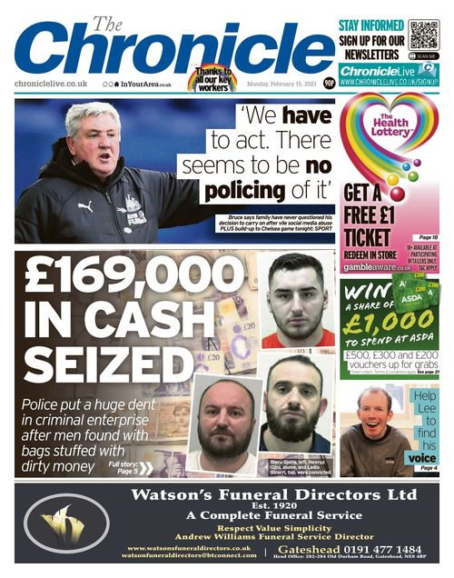 Newcastle Chronicle 2021-02-15