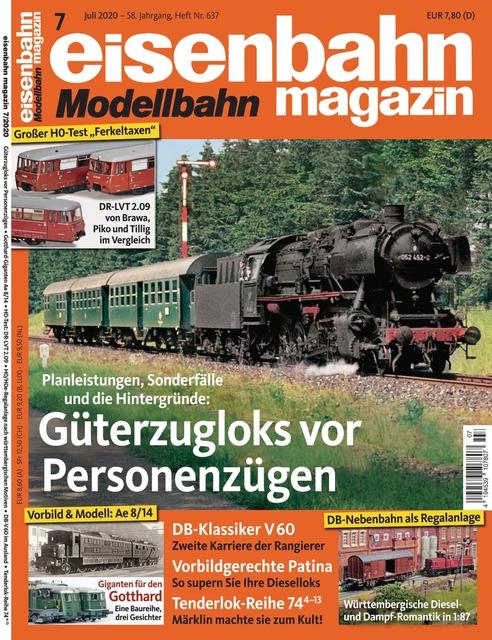 Ausgabe eisenbahn/magazin