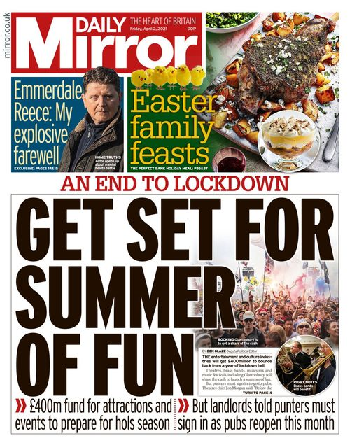 Daily Mirror 2021-04-02