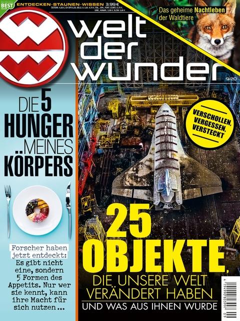 Welt der Wunder Ausgabe 9/2020