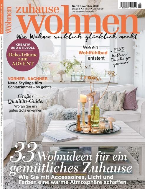 Zuhause Wohnen Ausgabe 11/2020