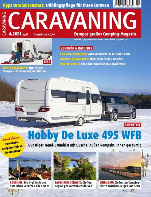 Caravaning Ausgabe 04/2021