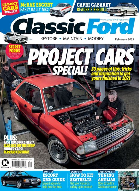 Classic Ford issue 02/2021