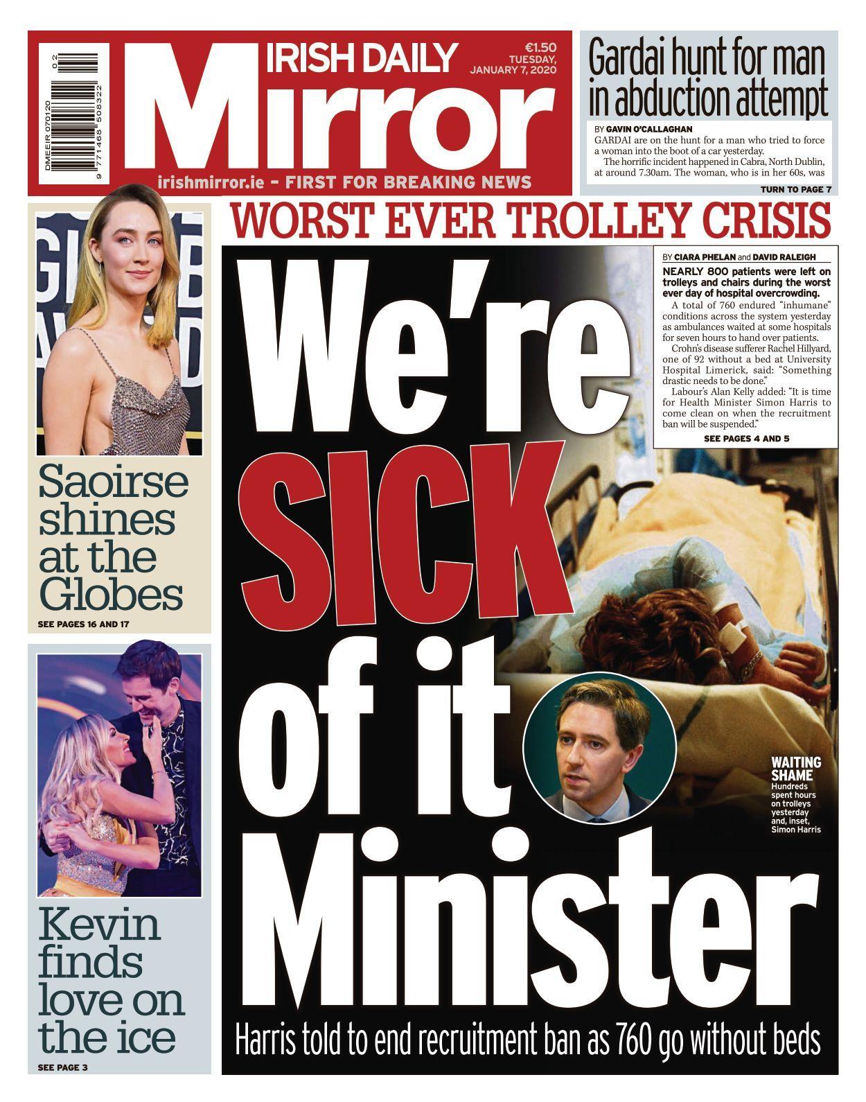 29 Irish Daily Mirror   10 10 10