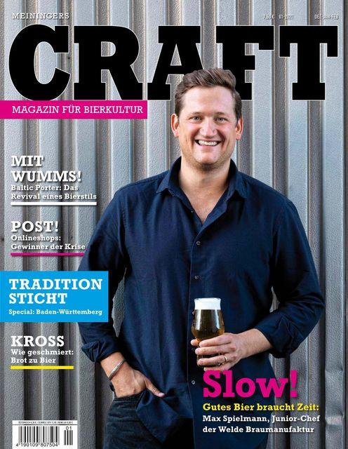 Meiningers Craft - Magazin für Bierkultur Ausgabe 01/2021