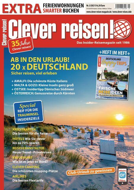 Clever reisen! Ausgabe 03/2021