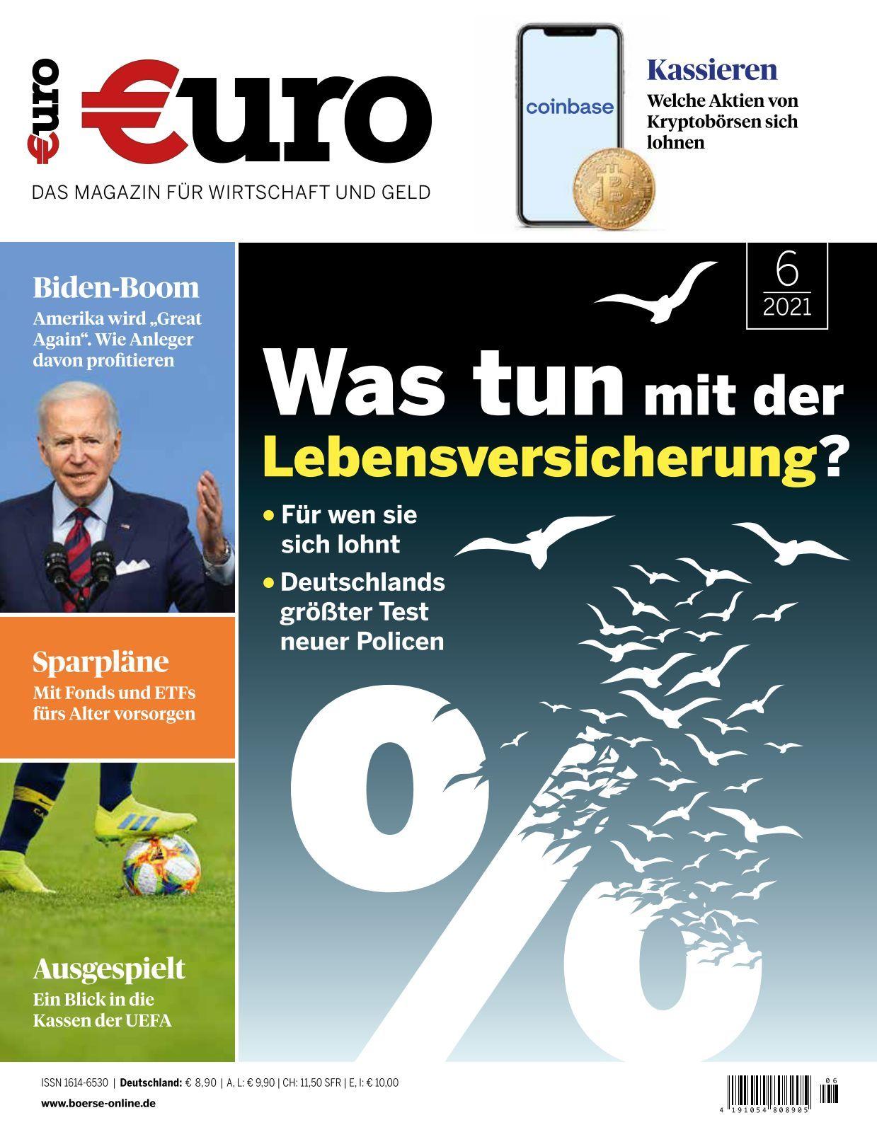 Euro   Ausgabe 21/21