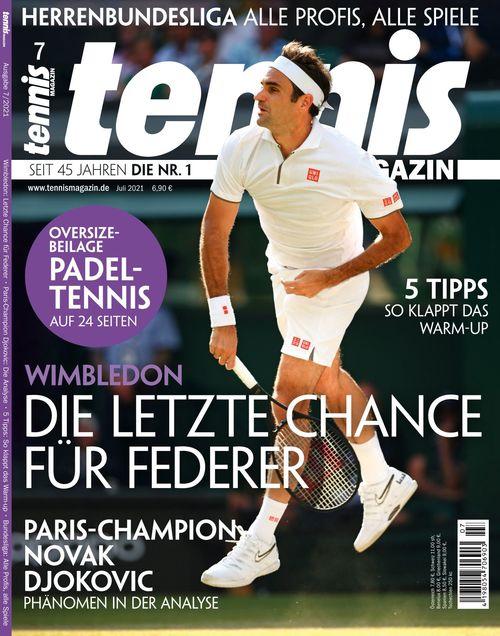 tennis MAGAZIN Ausgabe 07/2021