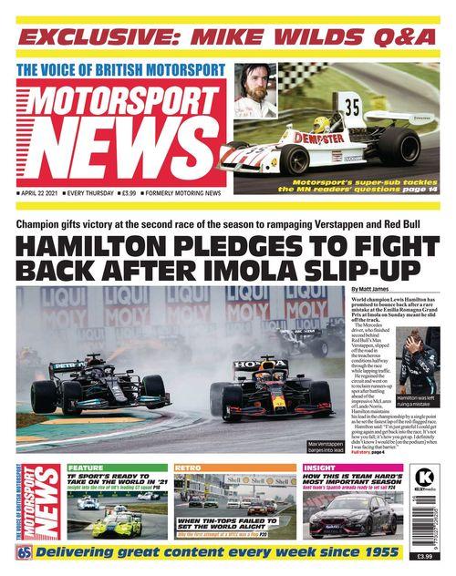 Motorsport News 2021-04-22