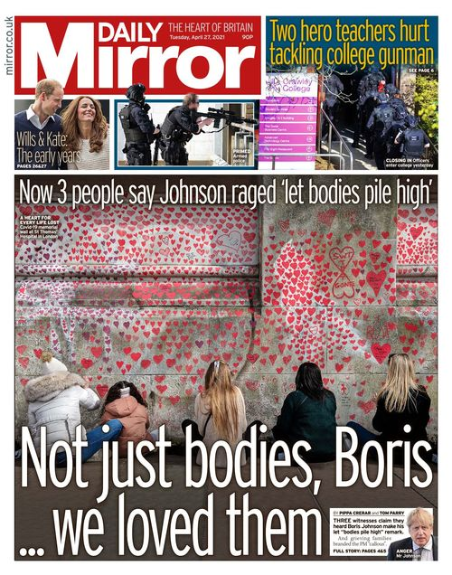 Daily Mirror 2021-04-27
