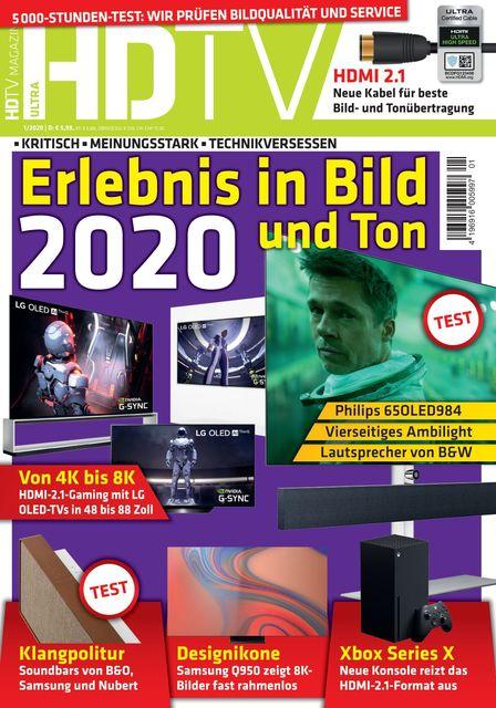 HDTV Ausgabe 01/2020
