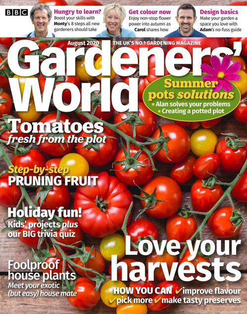 BBC Gardeners' World issue 08/2020