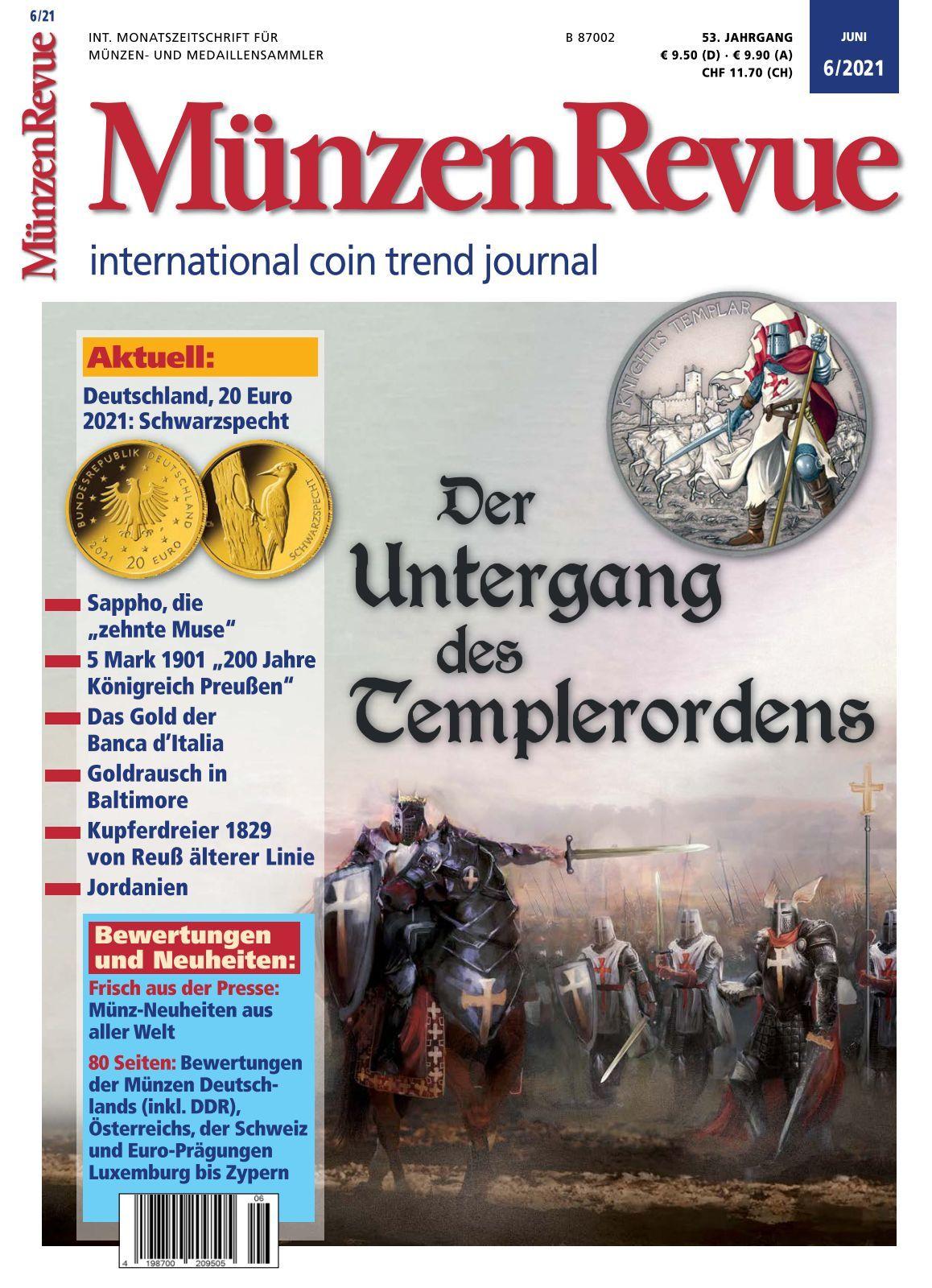 MünzenRevue   Ausgabe 8/8