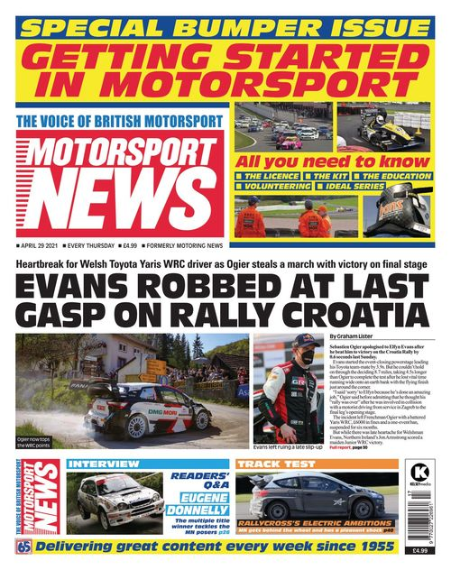 Motorsport News 2021-04-29