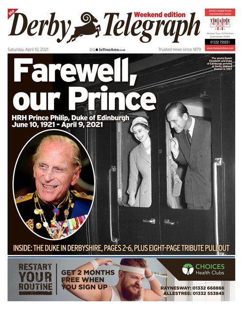 Derby Telegraph 2021-04-10
