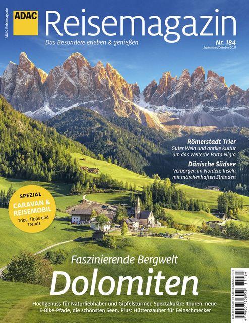 ADAC Reisemagazin Ausgabe 09-10/2021