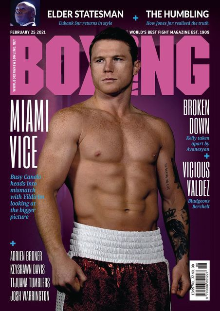 Boxing News 2021-02-25