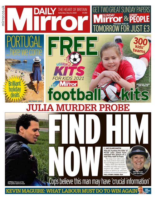 Daily Mirror 2021-05-08