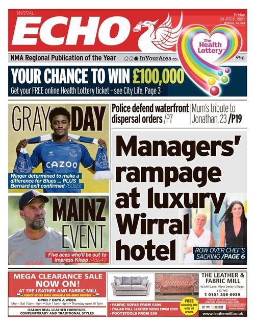Liverpool Echo 2021-07-23