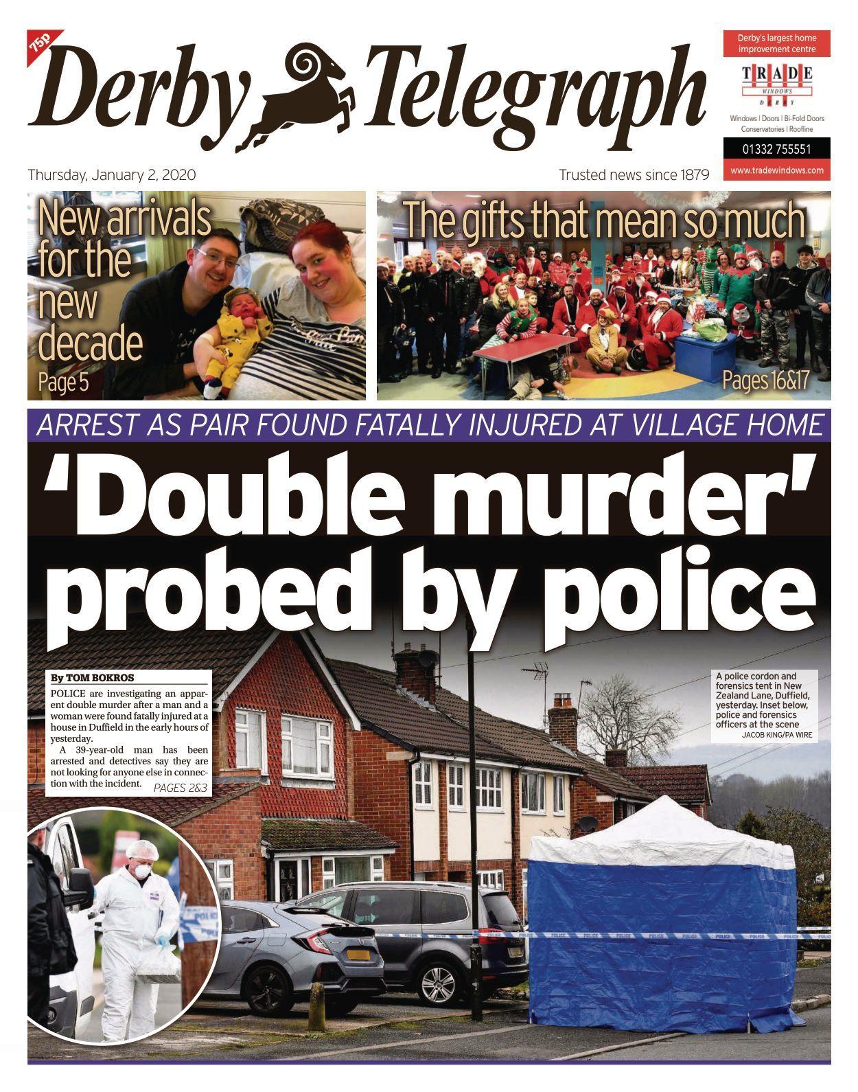 Derby Telegraph - 2020-01-02