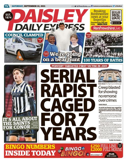 Paisley Daily Express 2021-09-18