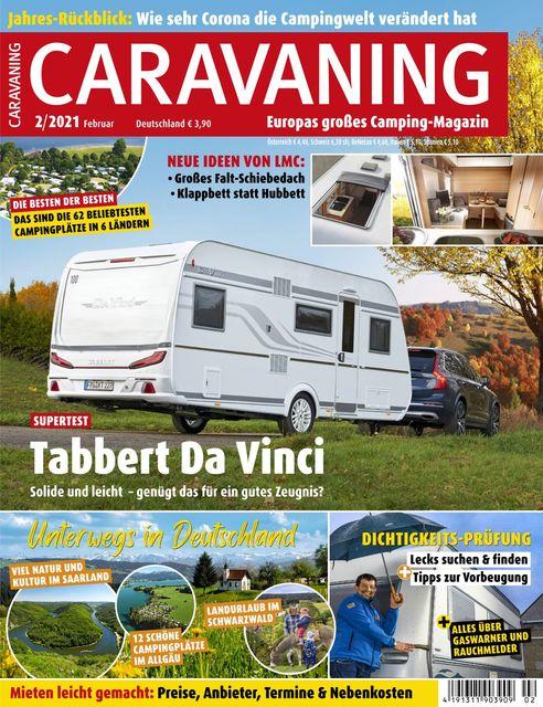 Caravaning Ausgabe 02/2021