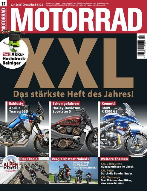 Motorrad Ausgabe 17/2021