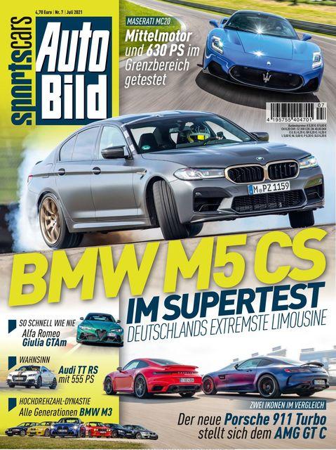 AUTO BILD Sportscars Ausgabe 07/2021