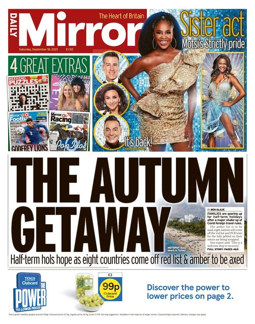 Daily Mirror 2021-09-18